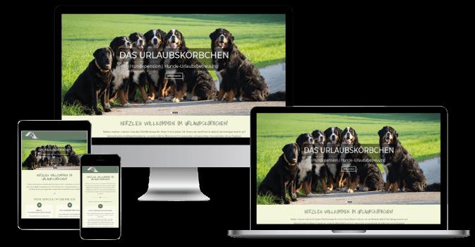 Webseite - Leistungen